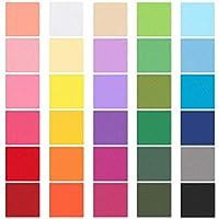 6000 件 5.08 厘米彩色方形纸纸五彩纸屑婚礼生日派对装饰棒礼品和艺术工艺 DIY