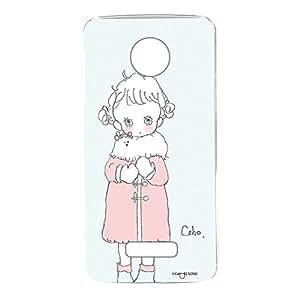 caho 手机壳透明硬壳印花外套和少女手机壳适用所有机型  コートと少女B 18_ Moto Z XT1650