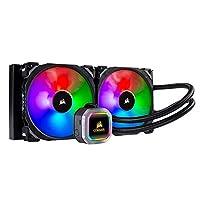 CORSAIR Hydro 系列液体 CPU 冷却器高级 RGB 照明和风扇软件控制CW-9060038-WW RGB Fan 280mm