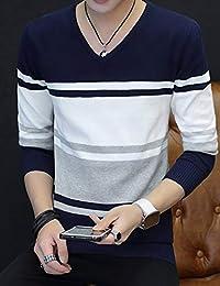 MPSMOVE 思慕夫 2018冬季新款男装V领针织衫毛线衫上衣男棉毛衣KWM141【12】