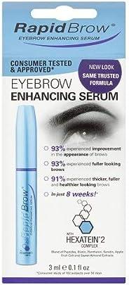 RapidBrow 眉毛增长液,3毫升,0.1盎司(约2.83克)