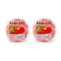 COCON可康牌大杯草莓味清爽果冻(果味型)420g*2(马来西亚进口)