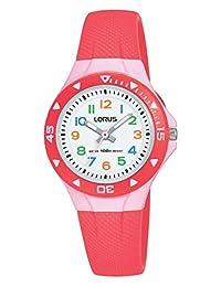 Lorus 女孩 指针式 石英 手表 带硅胶表带 R2355MX9
