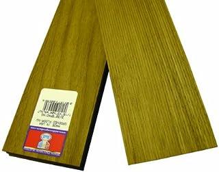 Midwest Products 4538 比例木材核桃地板,60.3x0.625 英寸,0.09375 间距