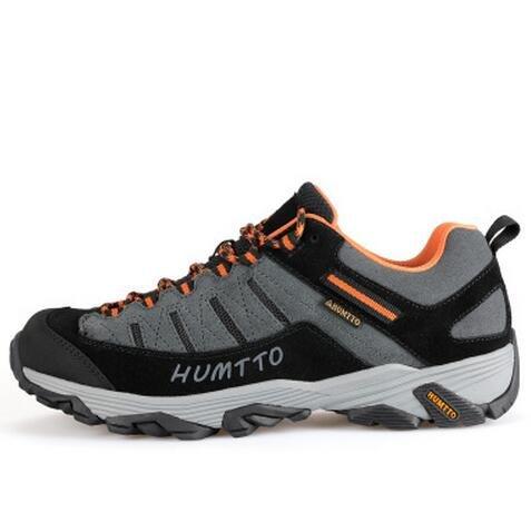 悍途低帮登山鞋男鞋 运动防滑越野徒步鞋 耐磨透气爬山鞋户外鞋 男运动鞋男户外鞋男士鞋