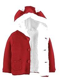 Carter's 婴儿羊羔绒衬里开衫 红色 12 个月