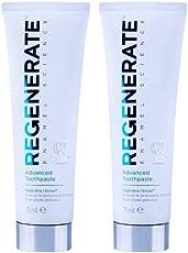 Regenerate 美白瓷白透明修复牙釉质牙膏 75ml*2