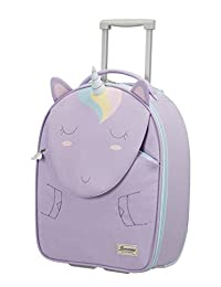 SAMSONITE Happy Sammies - 直立 45/16 儿童行李箱,45 厘米,24 升,粉色(兔子玫瑰色)