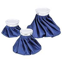 Ohuhu 热冷冰袋可重复使用冰袋,3 个装蓝色冰袋 3 Pack Blue 3.00