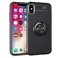 evershare iPhone XS Max 手机套套套环支架套柔软 TPU 防震超薄适用于苹果 iPhone 10S Max