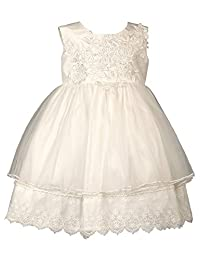 Heritage Amelia - 复古白色无袖连衣裙 古典白色 0-3 mths