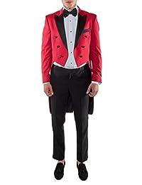 ferrecci 高级男式2件维多利亚尾燕尾服–tailcoat & slacks