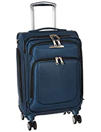 Samsonite Solyte DLX Expandable Softside Carry On with Spinner Wheels, 21 Inch, Mediterranean Blue