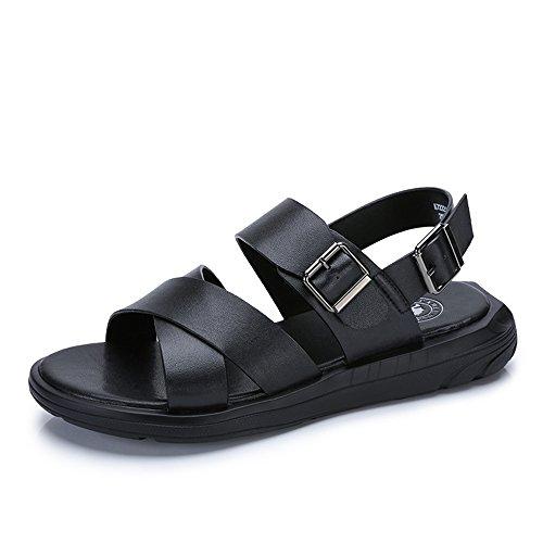 Camel 骆驼 男鞋凉鞋沙滩鞋子男士透气露趾凉鞋 A722263412