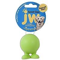 JW Pet Good Cuz Rubber Dog Toy 多色 小号