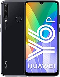 HUAWEI 华为 Y6p 2020 功能强大的5000 mAh 电池,13 MP 3 倍摄像头,64 GB 大内存,午夜黑