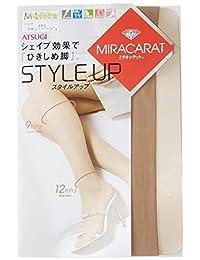 (厚木) Atsugi 连裤袜70周年纪念 miracarat Style Up 紧致腿连裤袜〈3双装〉