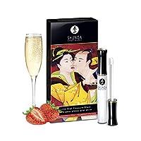 SHUNGA 春画 极乐口交快感唇彩(草莓香槟味) 10ml 男女适用增加口交私密部位快感(加拿大进口)