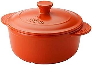 AROMA 家用 doveware 荷兰锅 Tangerine Orange 4.0 quart