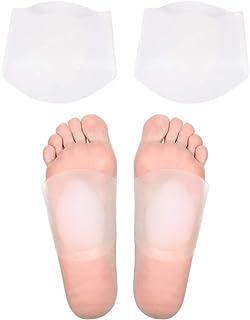ZYXY 足弓支撑凝胶垫,2 对足底**支撑鞋垫,平脚,高腰或倒下的拱门。 减少*和脚跟*的鞋垫