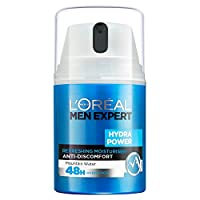 L'Oréal 男士专家 Hydra Power 清爽保湿霜, 50 毫升