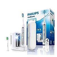 Philips 飞利浦 Sonicare FflexCcare 铂金电动牙刷带声波技术 HXhx9172 / 15 ,, 白色