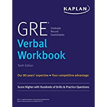 GRE Verbal Workbook: Score Higher with Hundreds of Drills & Practice Questions (Kaplan Test Prep) (English Edition)