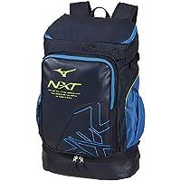 美津浓(MIZUNO) 硬式・软网球/羽毛球 背包(1条装) 63JD9005 82:ネイビー×サックス