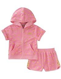JUICY Couture 女童2件套连帽 & 短裤套装