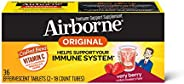 Airborne 草莓味VC泡騰片,36片-1000毫克維生素C
