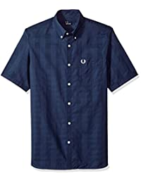 Fred Perry 男士格子衬衫