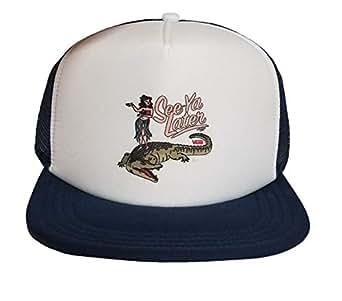 Vans HAT/Cap/Snapback Hula Daze Trucker 白色 OS