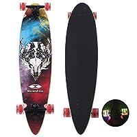 YD-0009 Longboard 99.06 厘米下垂 9 层枫木滑板