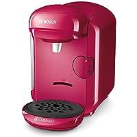 Bosch 博世 Tassimo Vivy2 胶囊咖啡机 TAS1401,容量大于70杯,全自动,适用于所有杯子,体积小巧,1300W,粉色