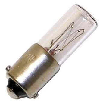 OCSParts 155MB 灯泡,155 伏,0.25 安(10 个装)