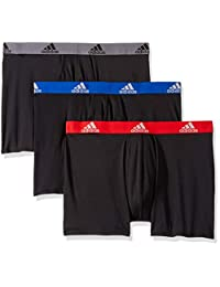adidas 男士运动性能 Climalite 平角内裤(3 条装)