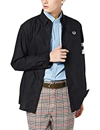 FRED PERRY 長袖襯衫 Tipped Sleeve Shirt M7568 男士