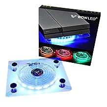 PS4 LED 冷却风扇 RGB Case Fan