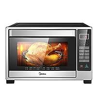 美的(Midea) 电烤箱T4-L326F 上下管独立控温12道电子菜单 多功能搪瓷内胆全自动蛋糕机32L大容量