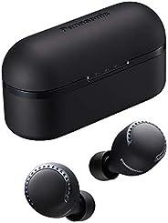 Panasonic 松下 RZ-S500WE-K True 无线入耳式蓝牙耳机 (降噪 超紧凑 语音控制 无线 *长 19.5 小时续航时间)黑色