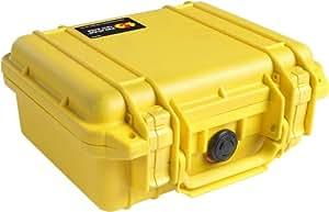 PELICAN 派力肯 #1200 安全箱摄影器材防护箱小型箱 (黄色) 含标准海绵(亚马逊进口直采,美国品牌)