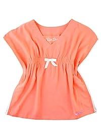 RuffleButts 婴儿/幼儿女孩编织长袍泳衣罩衫