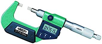 """INSIZE 3532-100E 电子刀片微米 3""""-4""""/75 毫米 -100 毫米"""