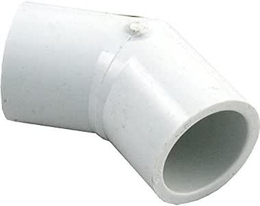 ~LASCO FITTINGS INC 417-007 3/4 英寸(约 1.9 厘米)SLIP 45^ ELL~