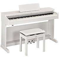 YAMAHA 雅马哈 ARIUS系列YDP-163WH电钢琴88键数码钢琴(含配套琴架 三踏板及琴凳) 白色