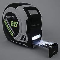 Komelon LED Light Tape Measure, 白/黑色