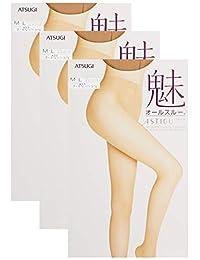 [ASTIGU] 连裤袜 ASTIGU [魅] 裸肌触感 全透明 〈3双装〉