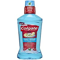 Colgate 高露洁 Total Daily Repair Mouthwash, Fresh Mint, 16.9 Fluid Ounce