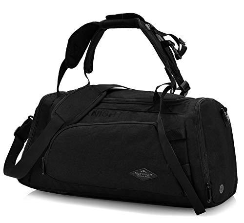 Forestfish 3ウェイトラベル荷物バッグバックパック男女兼用の靴コンパートメント付きショルダーバッグフィットネススポーツバッグ