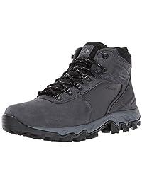 Columbia 男士 Newton Ridge Plus Ii 麂皮防水登山靴